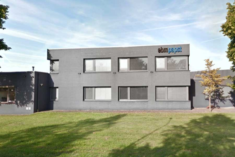 ebm-papst Heating Systems in s´Hertogenbosch (Holland) Quelle: ebm-papst GmbH & Co. KG
